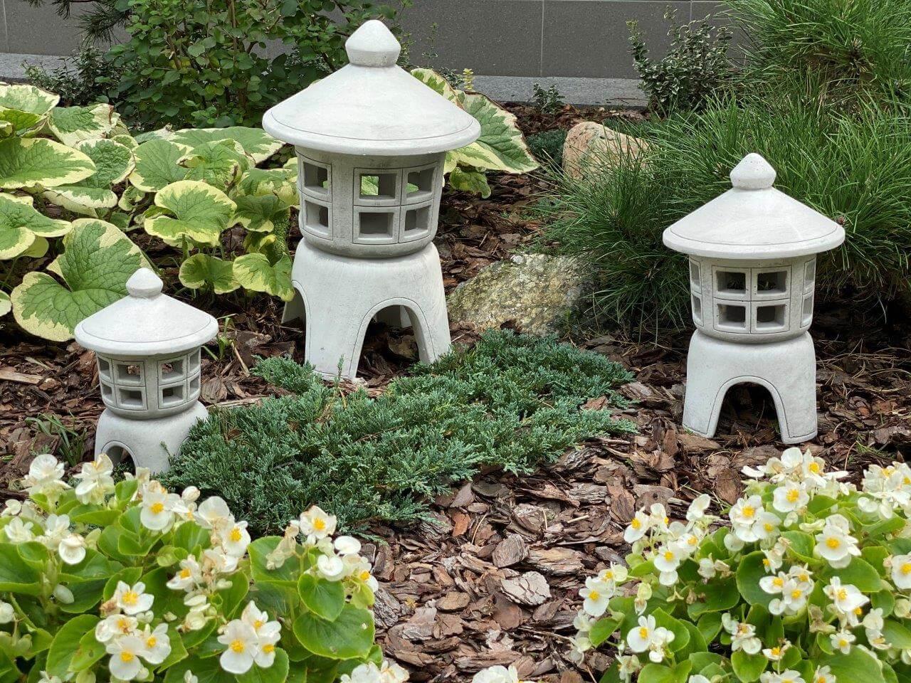 lampy ogrodowe w japońskim stylu